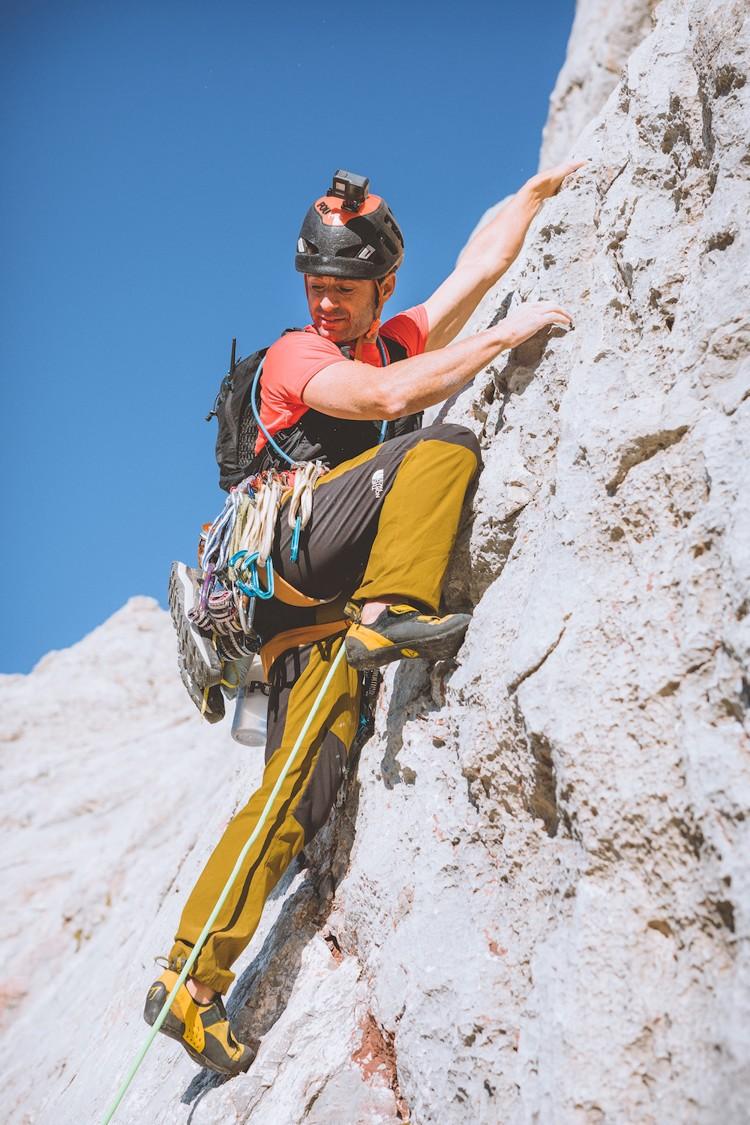 Fernanda Maciel, del mar a la cima de Urriellu en 14 horas. Foto: JordanManoukian
