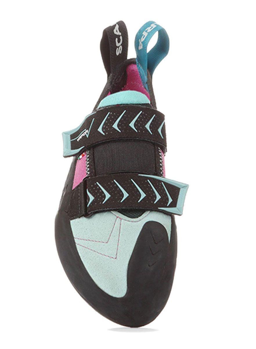 Scarpa Vapor Women, pies de gato con cierre de velcro para mujer