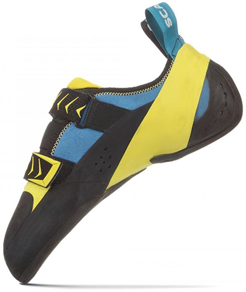 Scarpa Vapor V, pies de gato curvos para escalada deportiva
