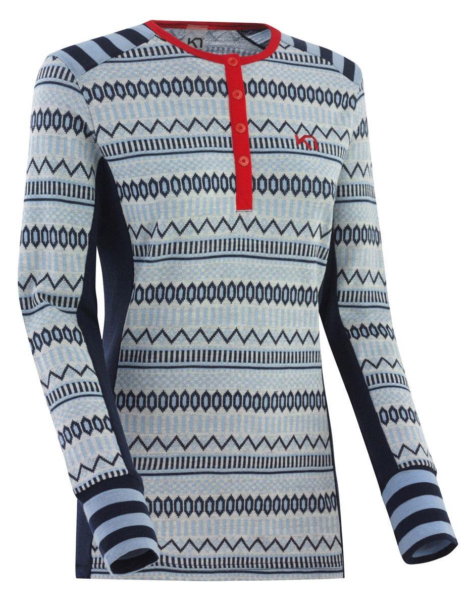 Kari Traa Akle L/S W, camiseta interior de lana merina para mujer