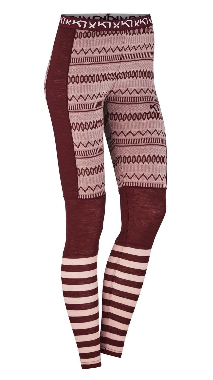 Kari Traa Akle Pant W, mallas para mujer en lana merina