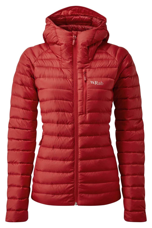 Rab Microlight Alpine Jacket para mujer, rellena de pluma