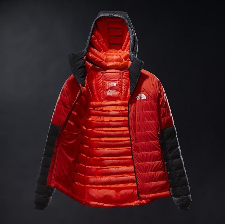 The North Face 50/50. Nueva ropa rellena de plluma