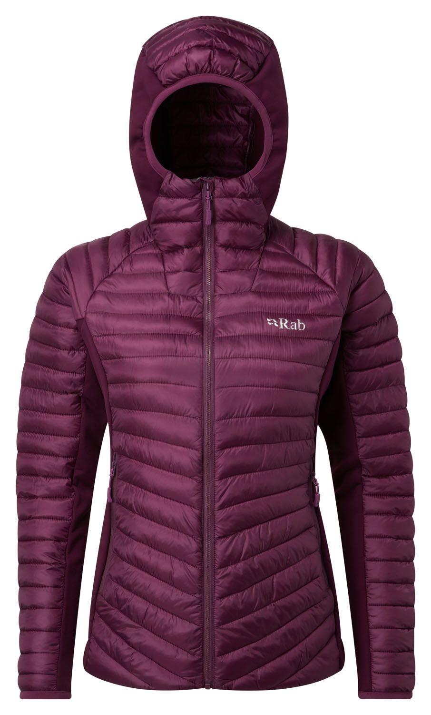Rab Cirrus Flex Jacket W, 2ª-3ª capa rellena de fibra, para mujer