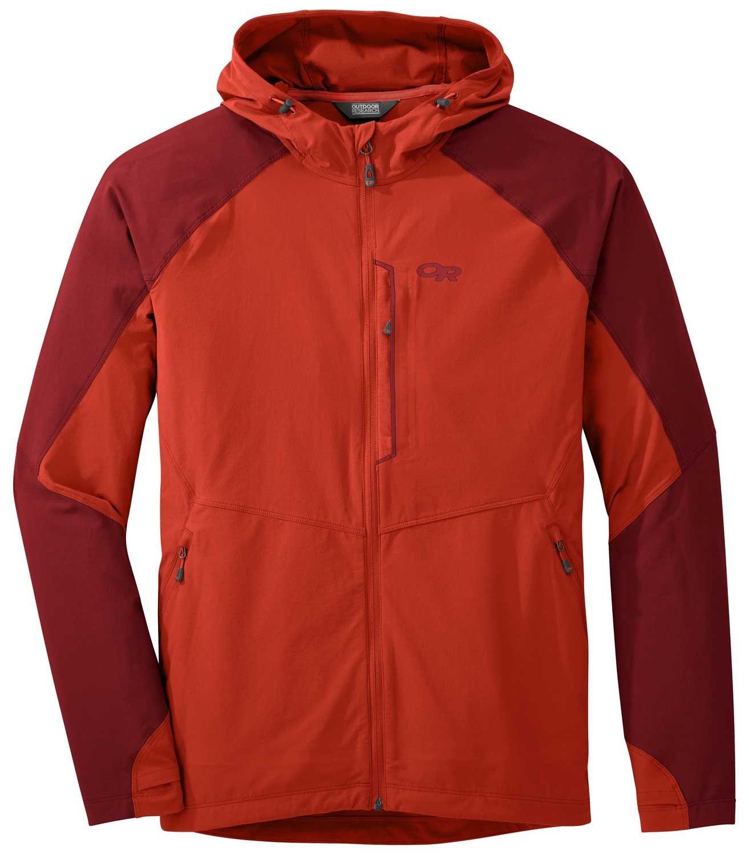Outdoor Research Ferrosi Jacket, softshell 3 estaciones perfecto para escalada, montaña, trekking
