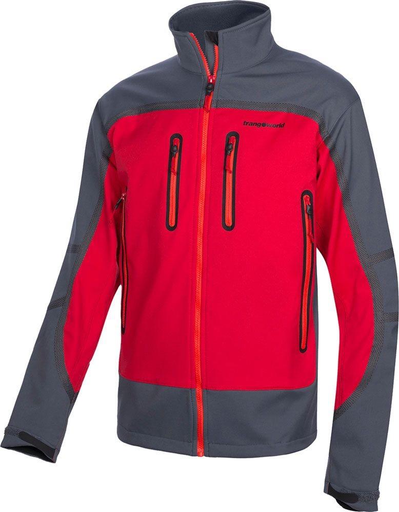 Trangoworld Raga TW86 Jacket, softshell cortavientos con mucha protección