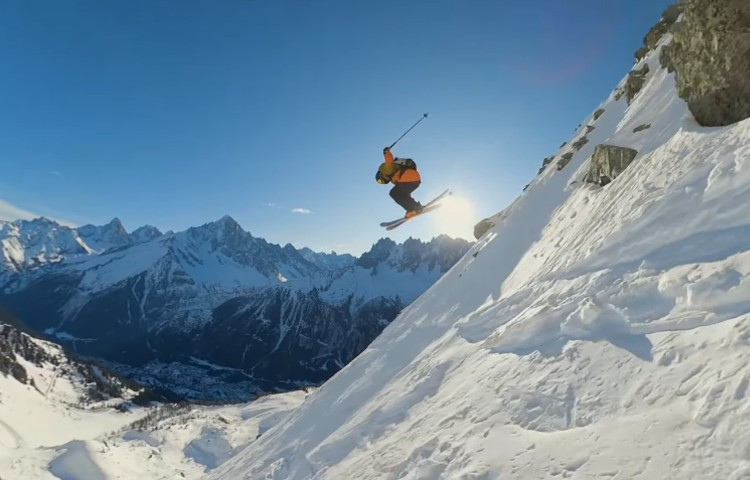 Video: Stian Hagen y Stinius Skjotskift, freeride en Chamonix