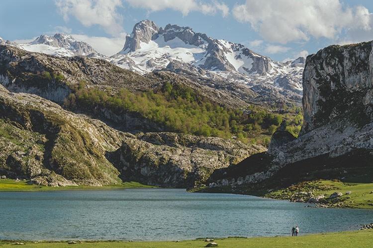 Peña Santa de Enol y Lago Ercina. Foto: José Allende