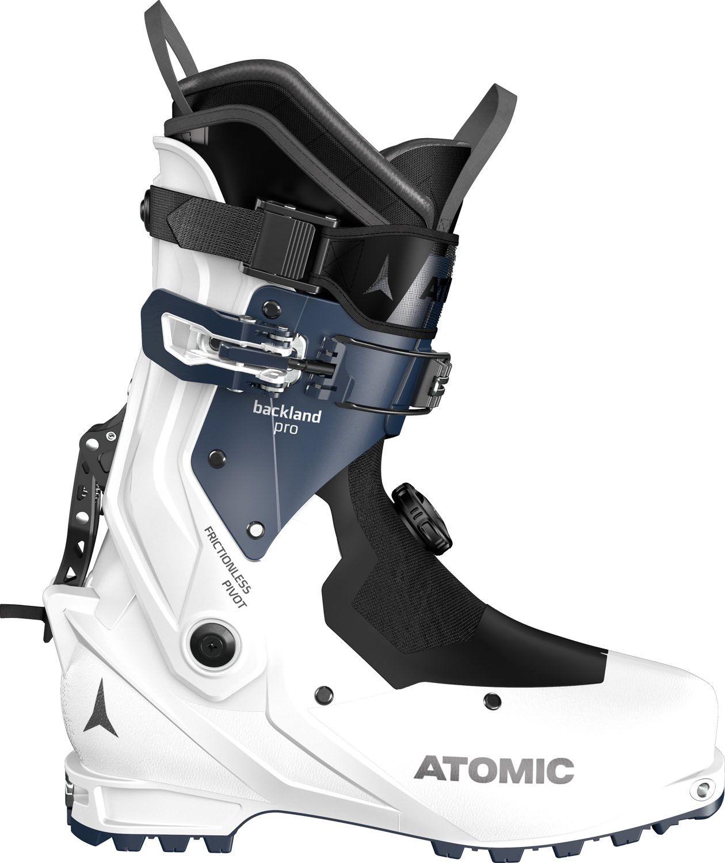 Atomic Backland Pro W Thermoformable, versión para mujer, poco más de 1 kilo. Botas ligeras polivalentes
