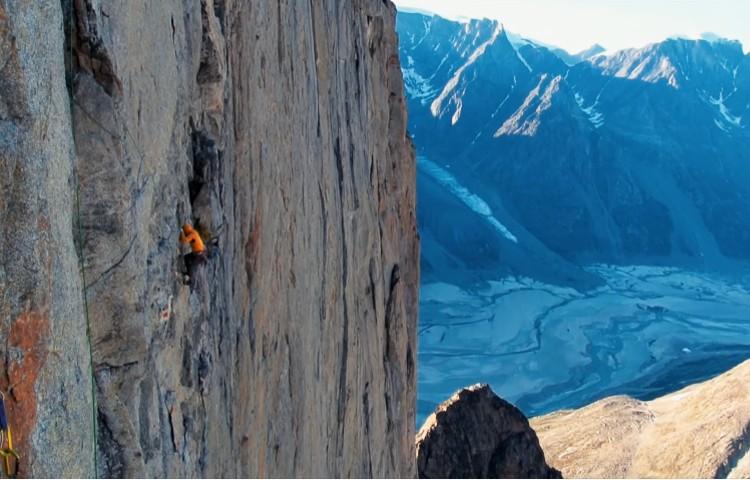 Kayak y Big Wall en Groenlandia. Della Bordella, Schupbach y Ledergerber
