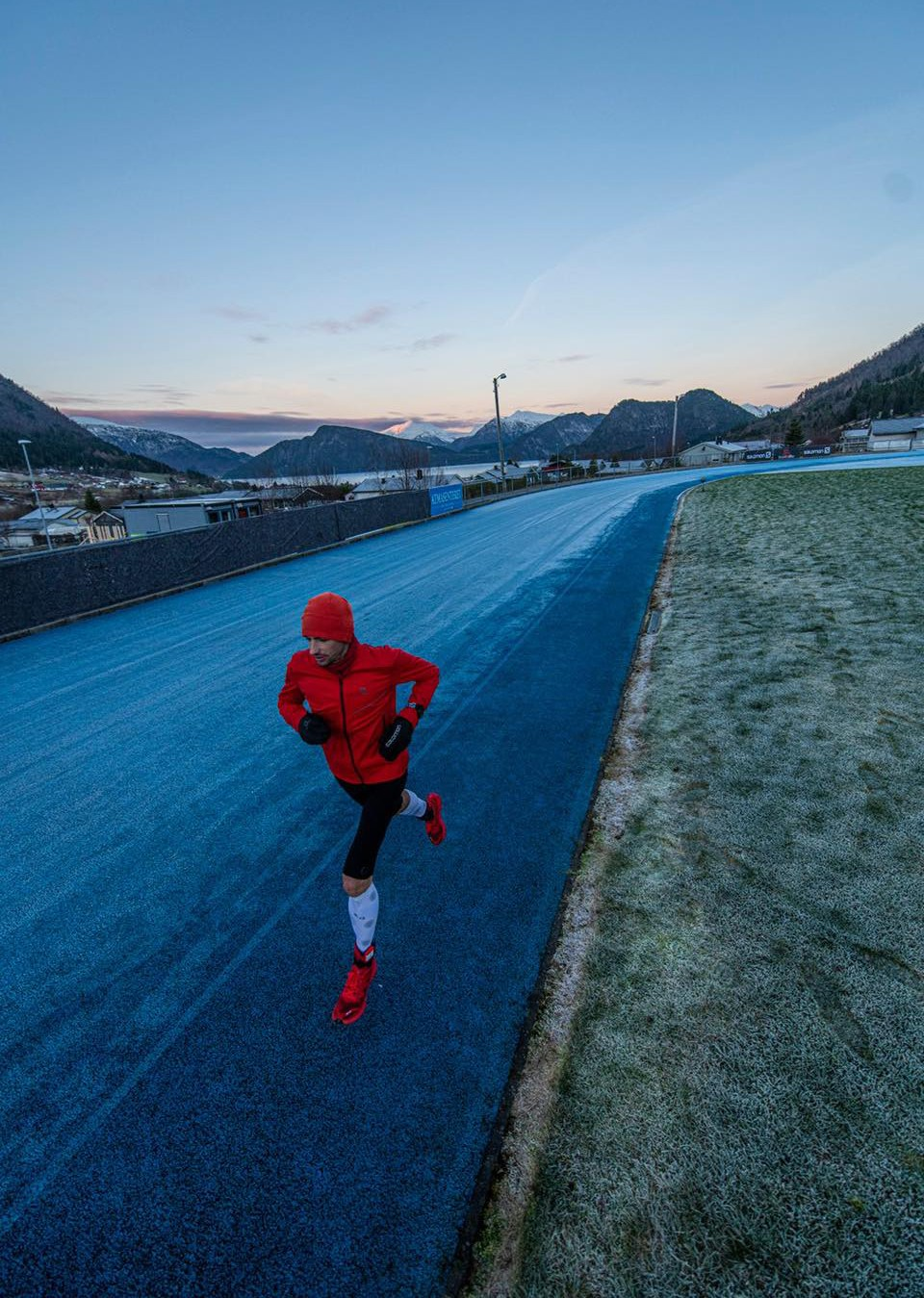 Kilian Jornet en su intento de 24 horas. Foto: Salomon