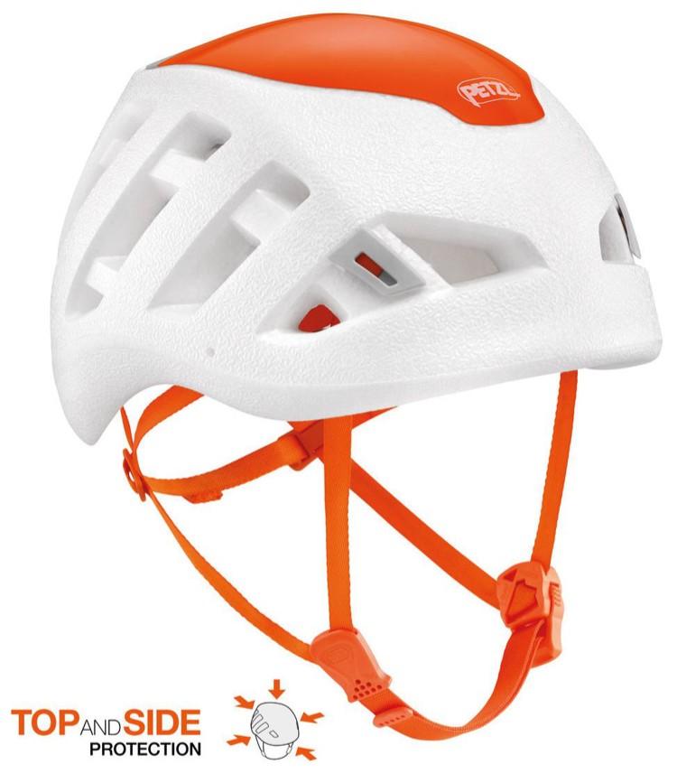 Petzl Sirocco, casco ultraligero con protección solo en la zona superior