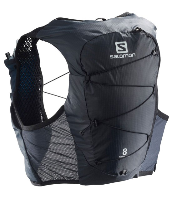 Salomon Active Skin 8 Set. Mochila-chaleco para trail running