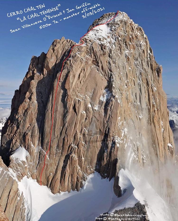 La Chaltenense, Cerro Chalten, Fitz Roy. Foto: Patagonia Vertical