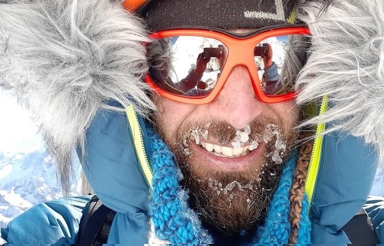 Alex Txikon, durante su última expedición invernal al Everest. Foto: Alex Txikon