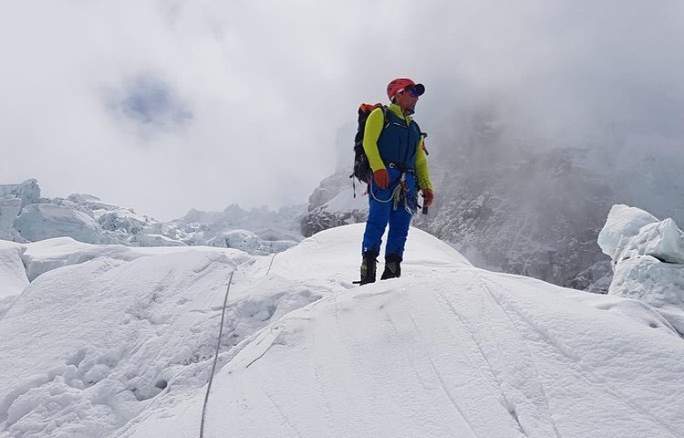 Alex Txikon, 1ª incursión en Everest sin oxígeno. Foto: Alex Txikon