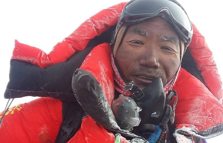 Kami Rita Sherpa, 25 cima en Everest. Foto: Kami Rita Sherpa