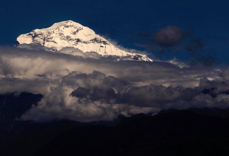 El Dhaulagiri. Foto: Luis M. Soriano