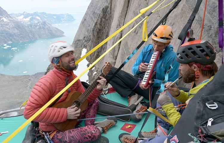 Favresse, Villanueva, Wertz y Jaruta, Big Wall en Groenlandia. Foto: Favresse, Villanueva, Wert