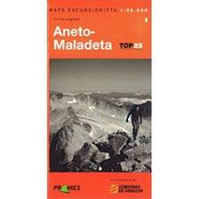 Ed. Prames Mapa Aneto- Maladeta 1:25000