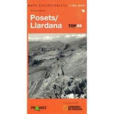 Ed. Prames Mapa Posets(Llardana) 1:25000