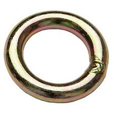 Fixe Plated Steel Welded Ring