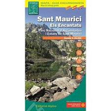 Ed. Alpina Mapa Sant Maurici 1:25000