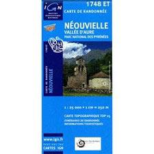 Ed. Ign France Map of Neouvielle V D'Aure