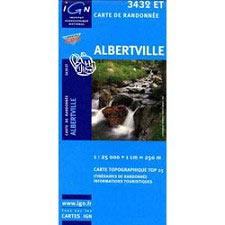 Ed. Ign France Albertville Map
