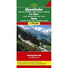 Ed. Freytag & Berndt Alps Map  1:500.000
