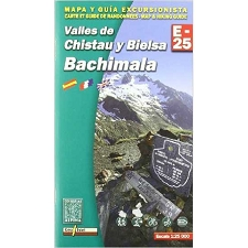 Ed. Alpina Mapa Bachimala E-25