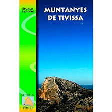 Ed. Piolet Mapa Muntanyes de Tivissa