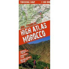 Ed. Rock Fax Mapa Morocco High Atlas 1:100000