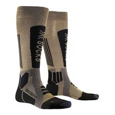 Xsocks Calcetin Helixx Gold 4.0 Gold/Black