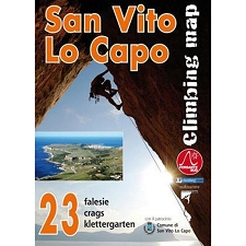 Ed. Versante Sud San Vito lo Capo. Climbing map Italy