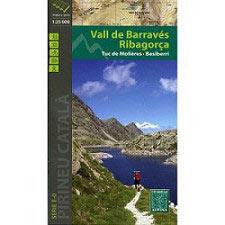 Ed. Alpina Barraves Ribagorça Map 1:25 000