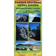 Ed. Natursport Mapa P.R Sierra Espuña