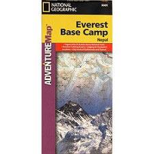 Ed. National Geographic Mapa Everest Campo Base 1:50000