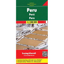 Ed. Freytag & Berndt Map of Perú 1:1.000.000