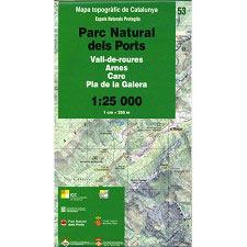 Icc (catalunya) Espais Naturals P.N. Ports 1:25.000