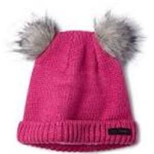Columbia Snow Problem Beanie Pink Ice