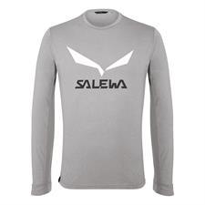 Salewa Solidlogo Dry M L/S Tee.