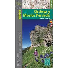 Ed. Alpina Mapa Ordesa Monte Perdido 1:40000