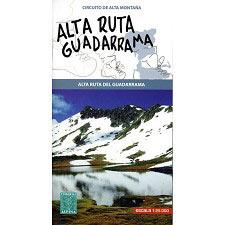Ed. Alpina Mapa alta Ruta guadarrama 1:25000