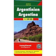Ed. Freytag & Berndt Mapa Argentina 1:1500000