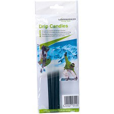 Wintersteiger Drip Candles Black (3 sticks)