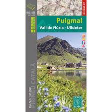 Ed. Alpina Mapa Puigmal: Vall de Núria-Ulldeter