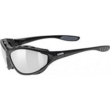 Uvex Sportstyle 302 - Matt Black S4