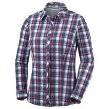 Columbia Saturday Trail Plaid LS Shirt W