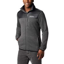 Columbia Canyon Point Sweater Fleece Fz City Grey